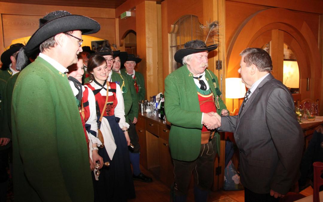 Santeler Pepi feierte seinen 80er