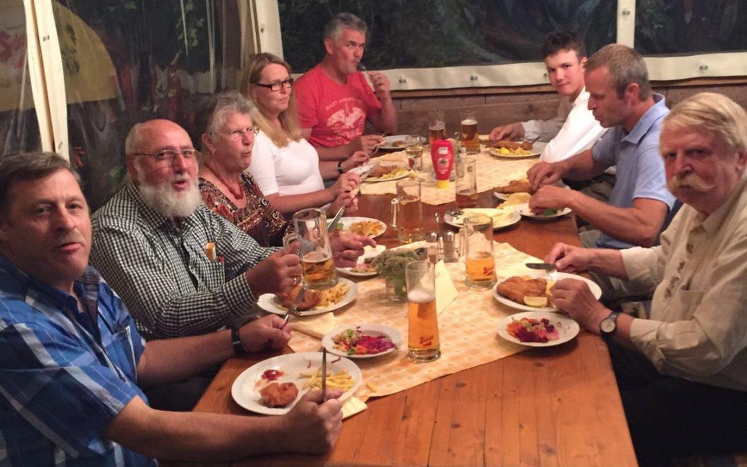 Helfer-Essen des Bataillonsschützenfestes
