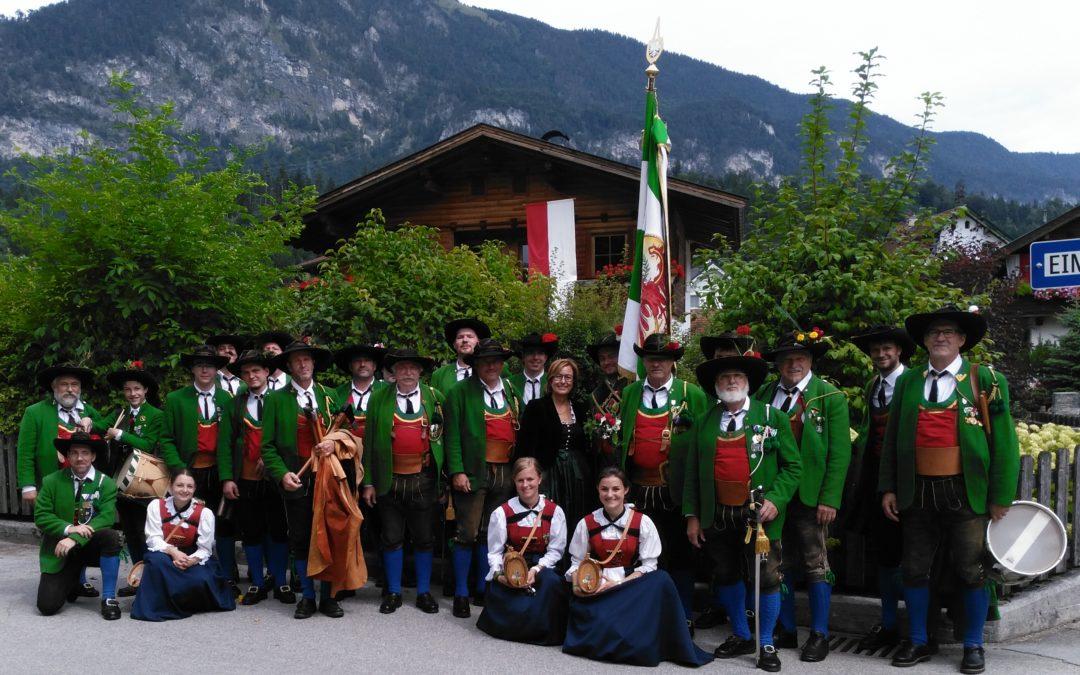 60 Jahr Wiedergründungsfest Der Schützenkompanie Kramsach