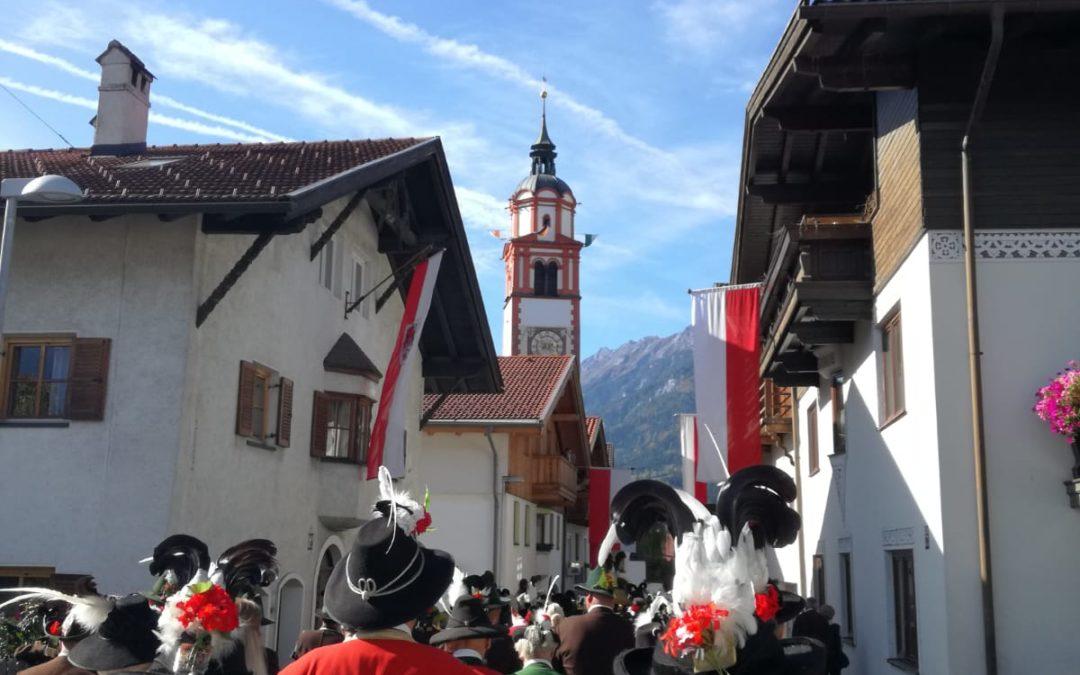 54. Schützenwallfahrt in Absam in Tirol