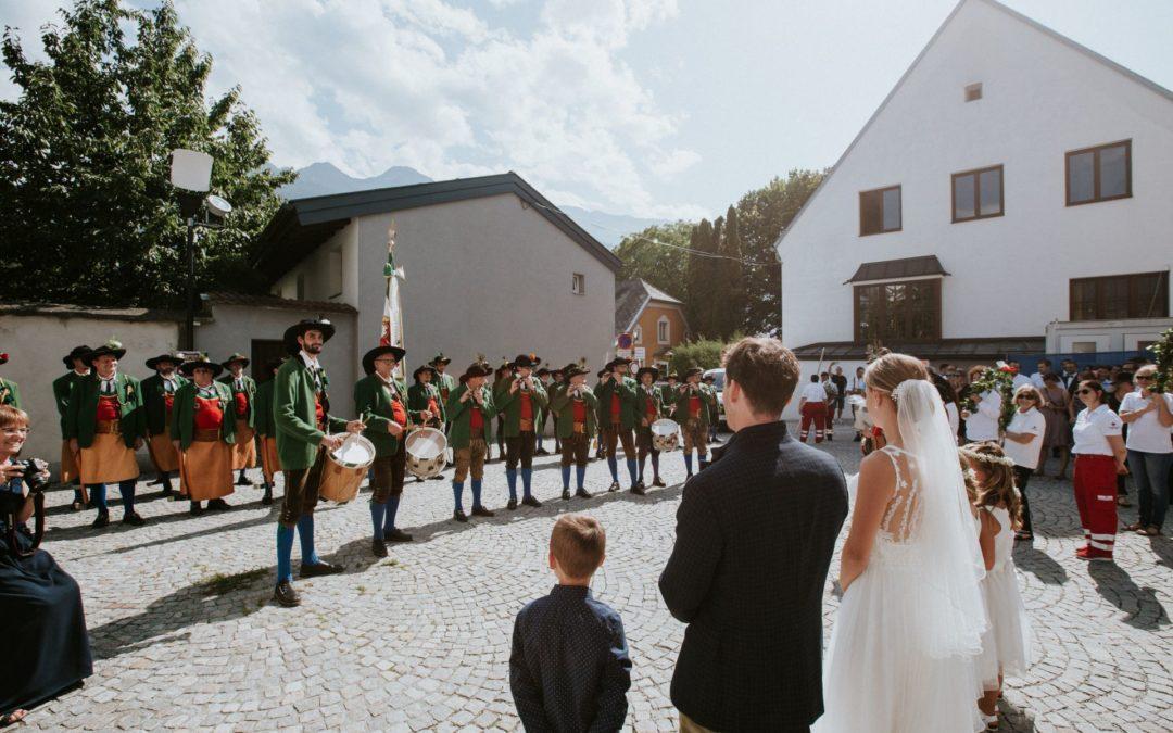 Hochzeit unserer Marketenderin Maria